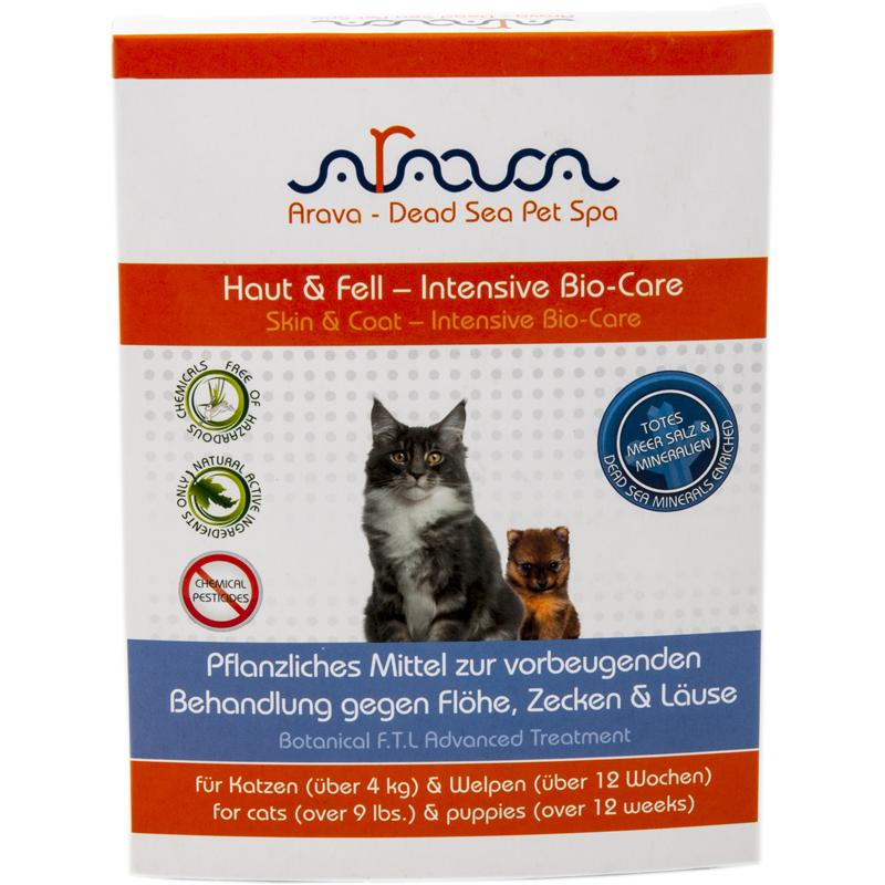 Arava Cat Spot On Fl�he, Zecken & L�use �ber 4 kg 4 x 2 ml